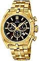 Jaguar Chronograph »UJ853/4 Jaguar Herren Uhr Sport J853/4 Edelstahl«, (Chronograph), Herren Armbanduhr rund, extra groß (ca. 46mm), Edelstahlarmband gold, Bild 1