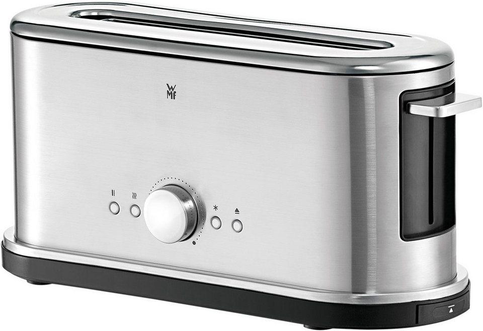 wmf toaster lineo 1 langer schlitz 900 w auch f r xxl toastscheiben online kaufen otto. Black Bedroom Furniture Sets. Home Design Ideas