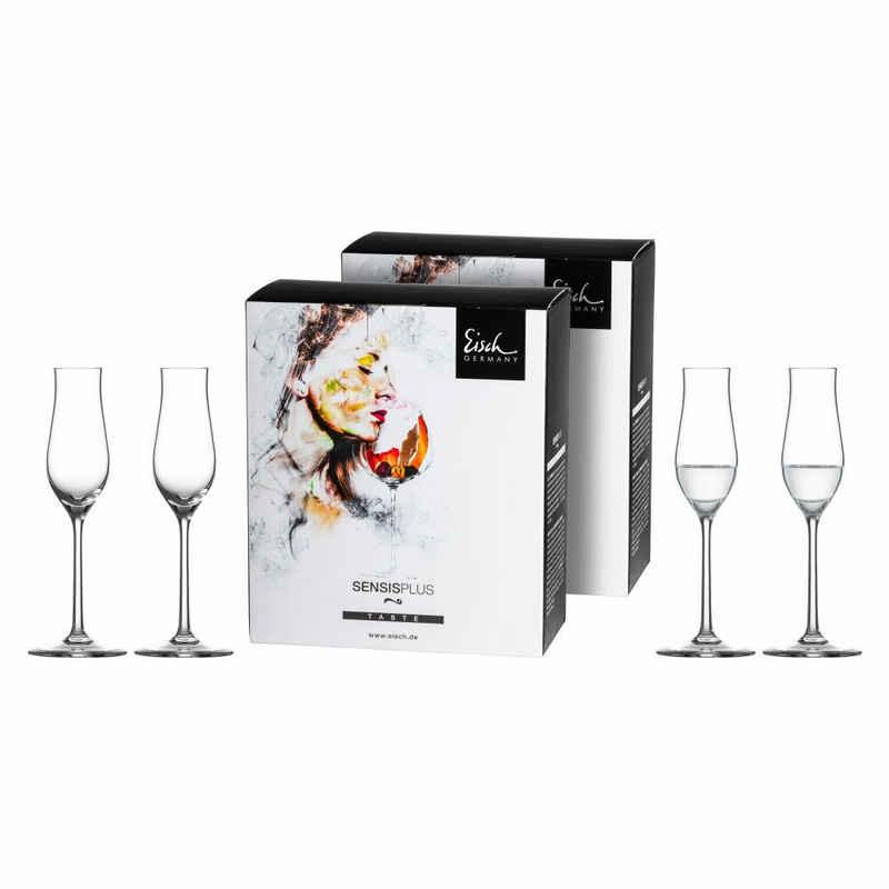 Eisch Grappaglas »4er Set Superior Sensis plus«, Kristallglas