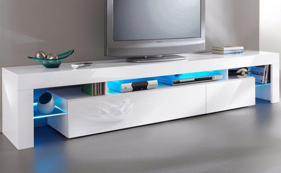 borchardt m bel tv lowboard breite 199 cm kaufen otto. Black Bedroom Furniture Sets. Home Design Ideas
