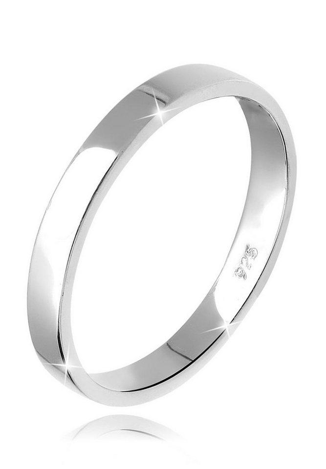 Elli Ring »Basic Verlobungsring 925 Silber« in Silber