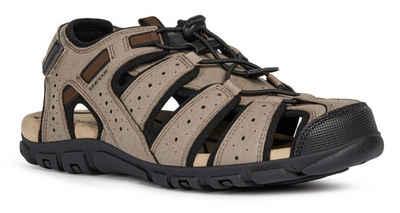Geox »UOMO STRADA« Sandale mit praktischem Fersenklettverschluss