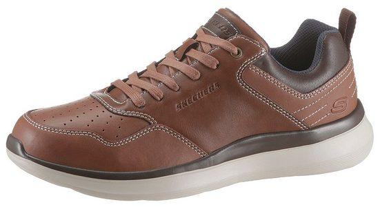Skechers »DELSON« Sneaker mit modischem Kontrastbesatz
