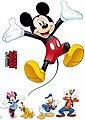 Komar Wandsticker »Wandsticker Mickey and Friends, 50 x 70 cm«, Bild 2