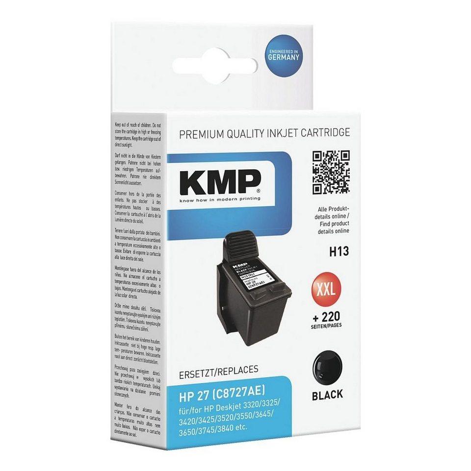 KMP Tintenpatrone ersetzt HP »C8727AE« Nr. 27