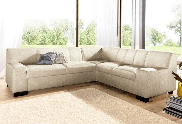 DOMO collection Ecksofa, wahlweise mit Bettfunktion | Wohnzimmer > Sofas & Couches > Ecksofas & Eckcouches | DOMO collection