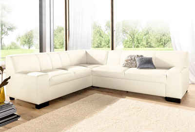 DOMO collection Ecksofa »Norma Top«, wahlweise mit Bettfunktion