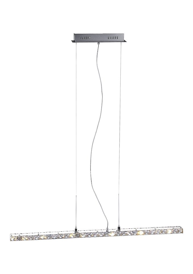 LED-Pendellampe, Paul Neuhaus in silberfarben
