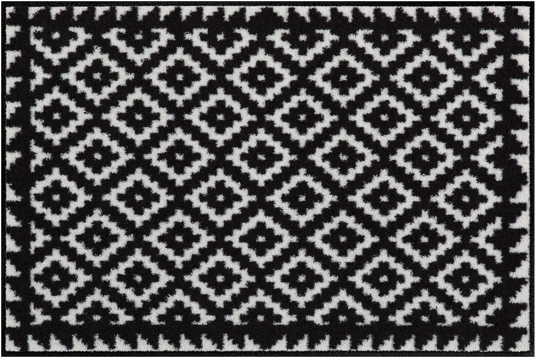 Fußmatte, Salonloewe, »Tabuk Black&White«