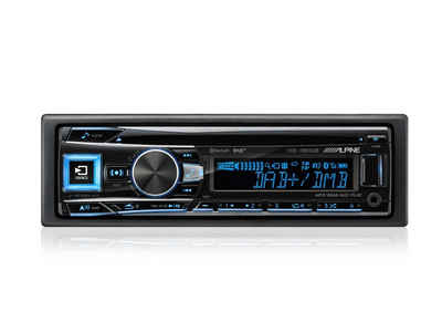 ALPINE Audio-System (Alpine CDE-196DAB, Bluetooth, DAB+, CD/USB/MP3, 1-DIN Autoradio)