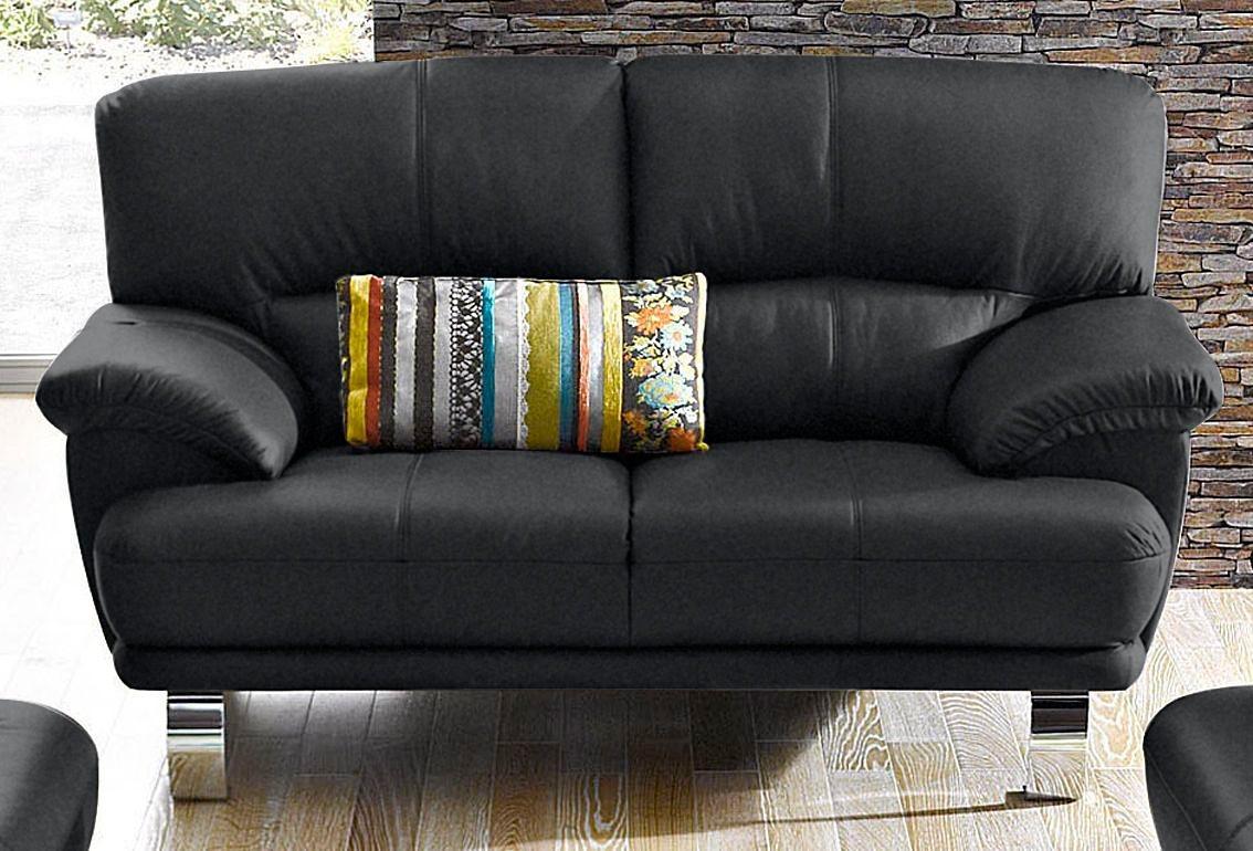 CASA ROSSA 2-Sitzer schwarz  Polstermoebel