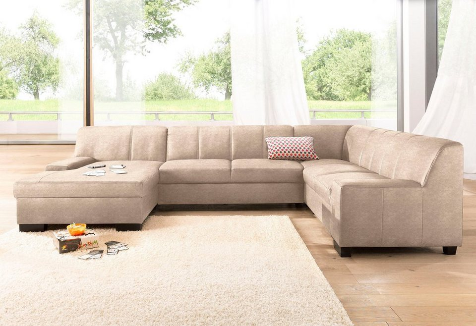 Domo Collection Wohnlandschaft Wahlweise Mit Bettfunktion Online