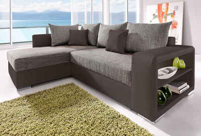 wohnzimmer und kamin ecksofa f r kleine wohnzimmer. Black Bedroom Furniture Sets. Home Design Ideas