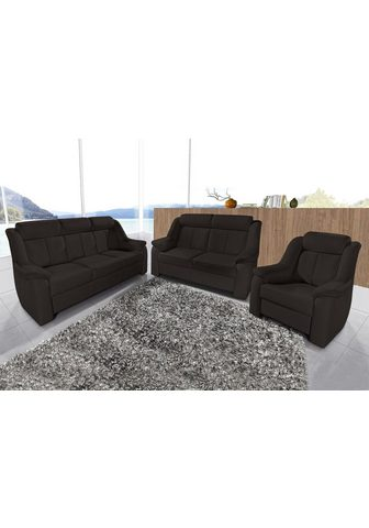 SIT&MORE Sit&more Rinkinys: Trivietė sofa + Dvi...