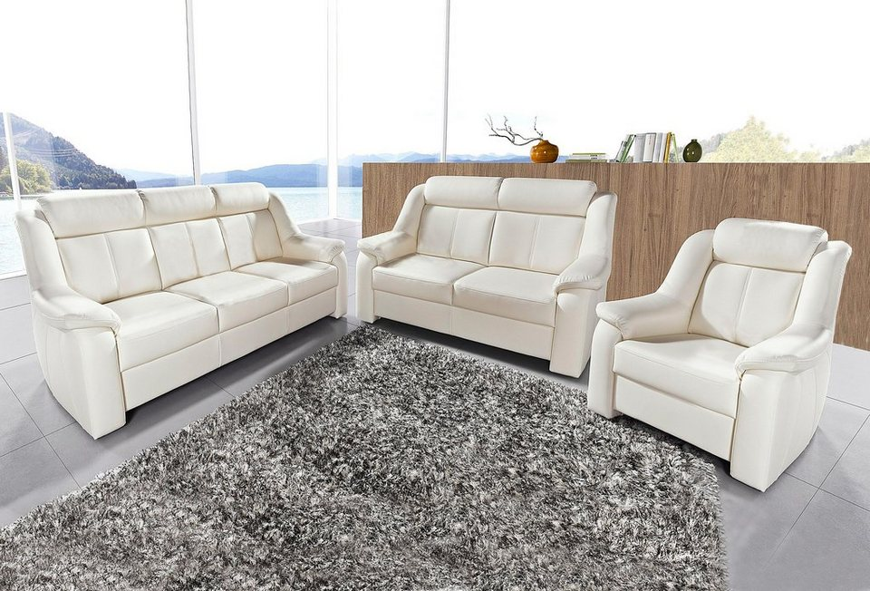 sit&more Set: 3-Sitzer + 2-Sitzer + Sessel kaufen | OTTO