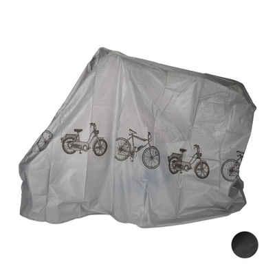 relaxdays Fahrradschutzhülle »1 x Fahrradgarage aus Kunststoff grau«