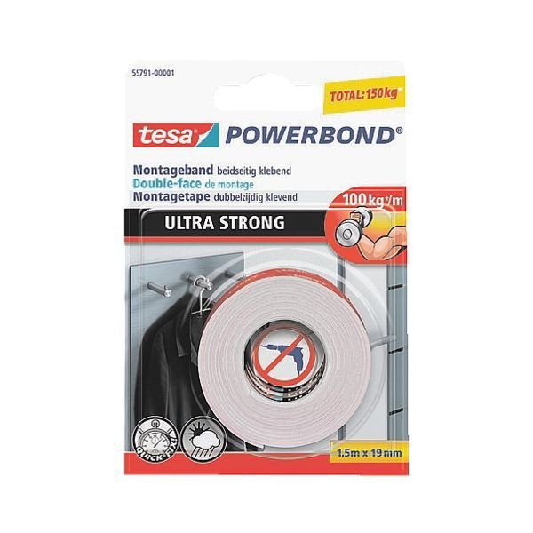 Tesa Montageband »Powerbond Ultra Strong«