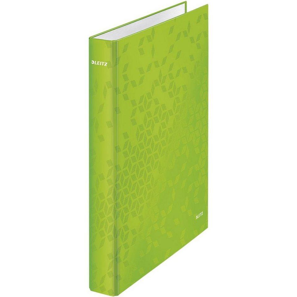 Leitz Ringbuch »WOW« in metallicgrün