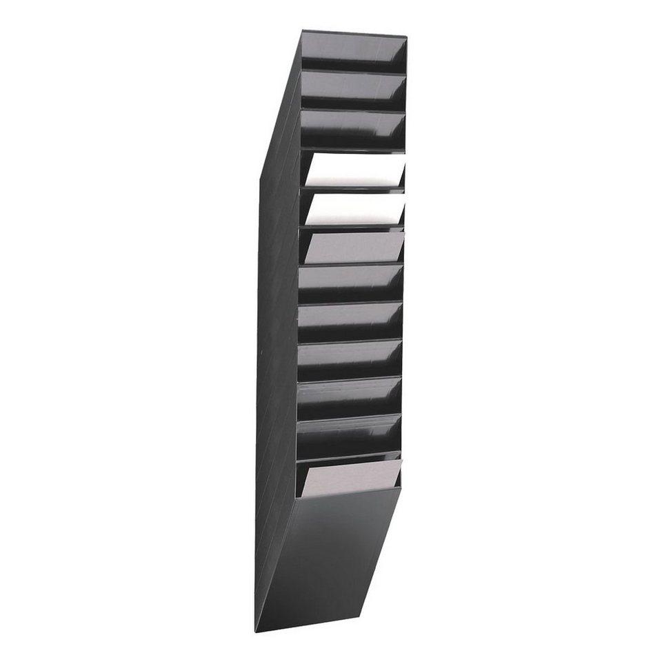Durable Wand-Prospekthalter »Flexiboxx« in schwarz