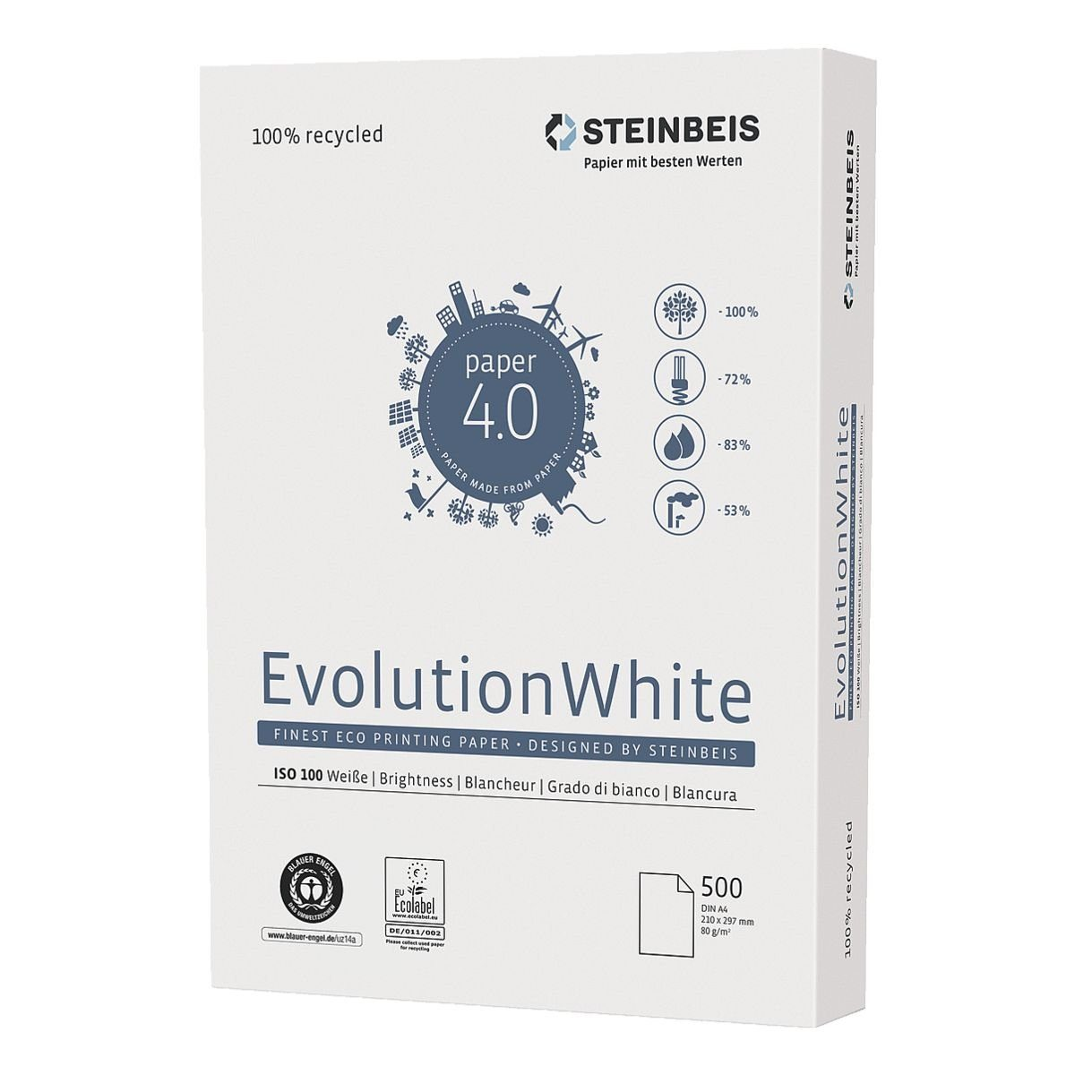 Steinbeis Recyclingpapier »Evolution White«
