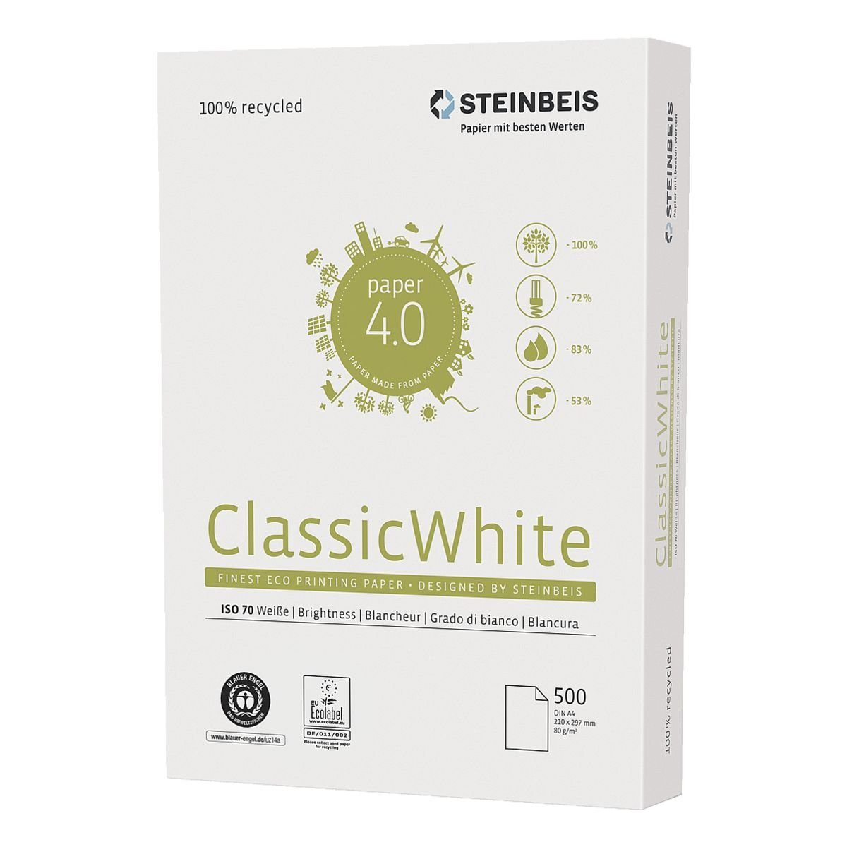 Steinbeis Recyclingpapier »Classic White«