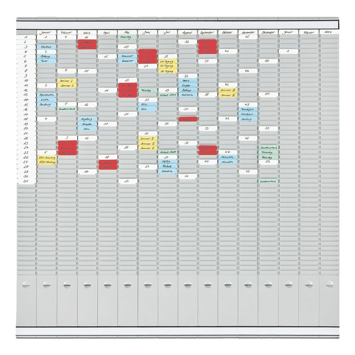 Franken T-Kartenplaner »PV-SET5«