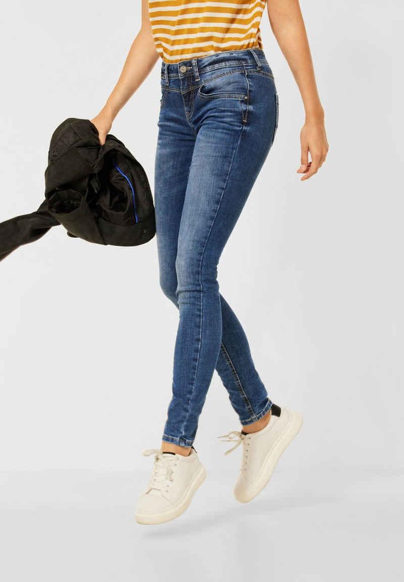 STREET ONE Slim-fit-Jeans 4-Pocket Style