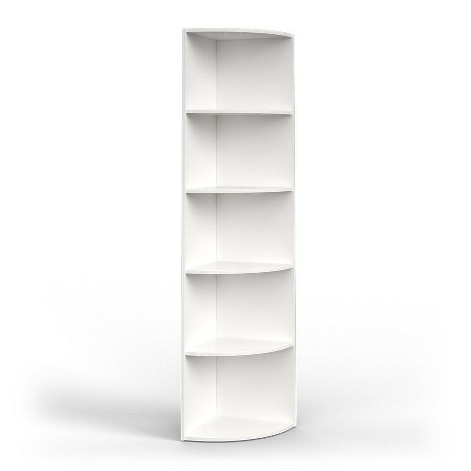 Vicco Eckregal »ECKI 20 x 20 cm Weiß   Küchenregal Badregal Winkelregal  Regal« online kaufen   OTTO