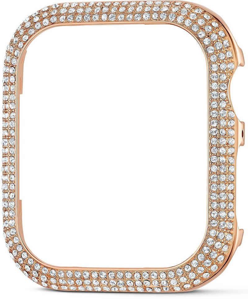 Swarovski Smartwatch-Hülle »40 mm Sparkling Gehäuserahmen passend zur Apple Watch ®, roséfarben, 5572574, silberfarben, 5572573« Watch, mit Swarovski® Kristallen