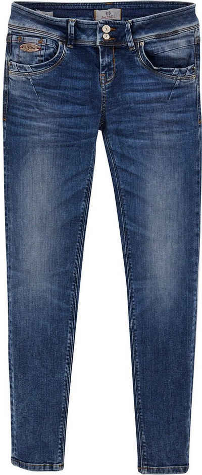 LTB Slim-fit-Jeans »SENTA« mit schmalem Bein, hoher Leibhöhe und Maken-Label