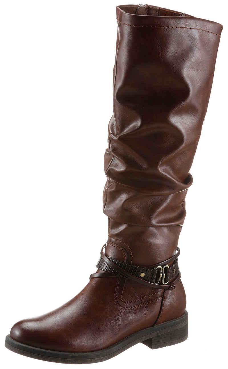 Tamaris Stiefel mit Vario-Schaft und TOUCH-It Ausstattung