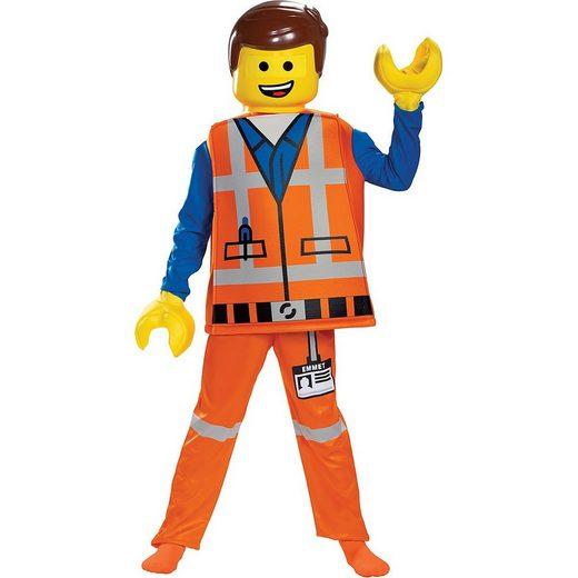 LEGO® Kostüm »Kostüm Emmet Lego Movie 2 S (4-6 J)«