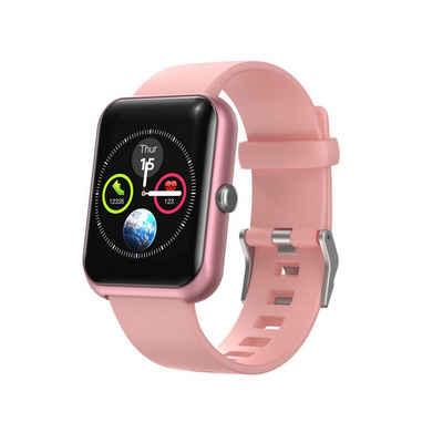 Hi5 Fitness-Tracker »S20 Fitness Armband Fitness Tracker Uhr Touchscreen Watch mit IP68 wasserdicht, Aktivitäts-Tracker mit Herzfrequenz, Schlafmonitor, Bewegungserinnerung, Kalorienzähler und Benachrichtigungserinnerung«