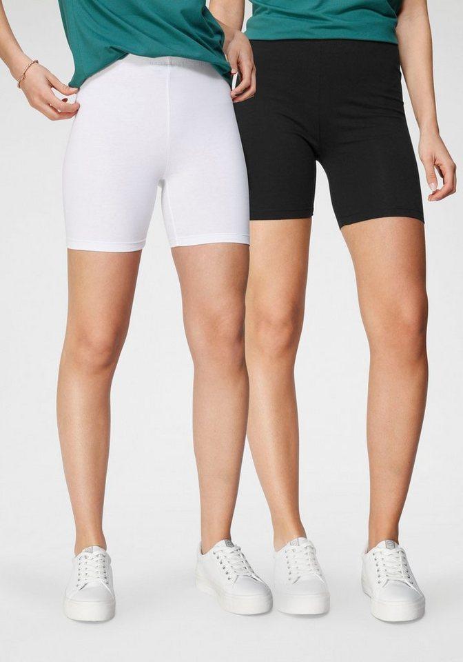 tamaris -  Radlerhose (2er-Pack) zum Unterziehen unter Kleidern und Röcken