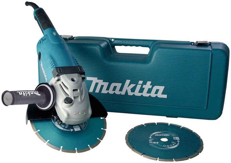 Makita Winkelschleifer »GA9020RFK3«, max. 6600 U/min