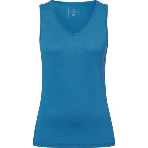DEPROC Active Funktionsshirt »MORAY TOP WOMEN« Funktionsshirt mit V-Ausschnitt