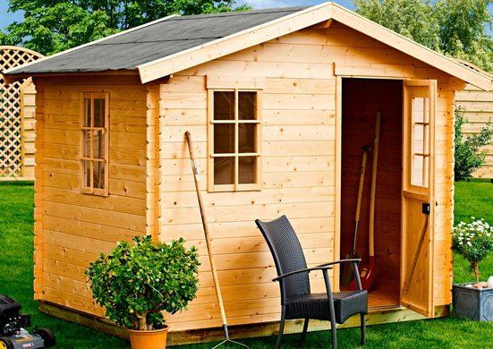 Kiehn-Holz Gartenhaus »Mellenberg 3«, BxT: 309x303 cm