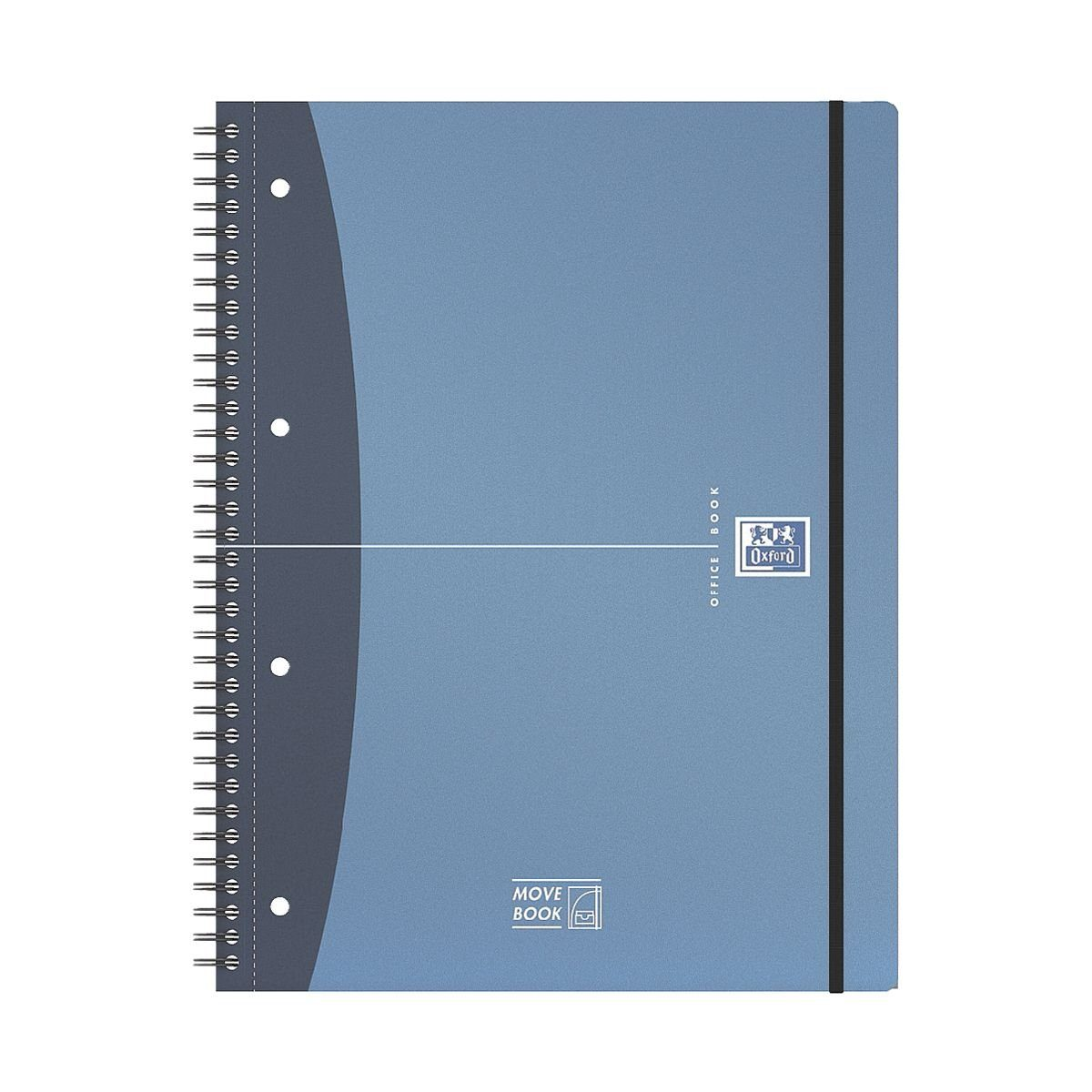 OXFORD Collegeblock 400011307 A4 liniert, Optik-Papier »Movebook«