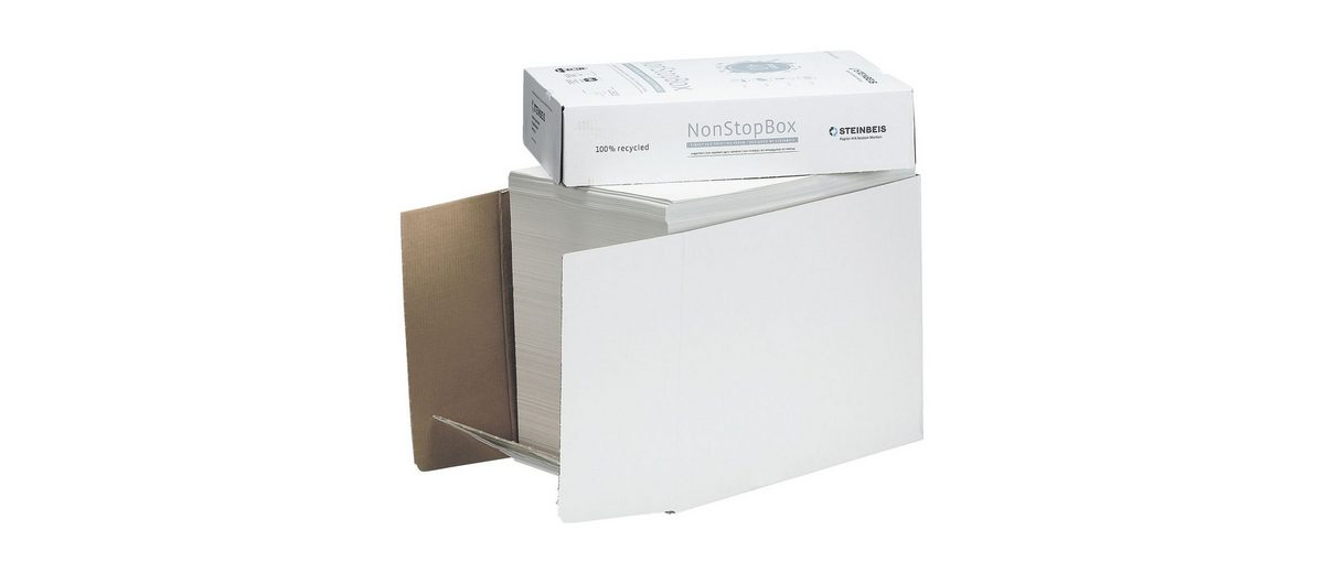 Steinbeis Öko-Box Recyclingpapier »Classic White«