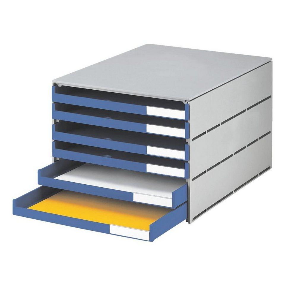 Styro Schubladenbox »Styroval« in blau
