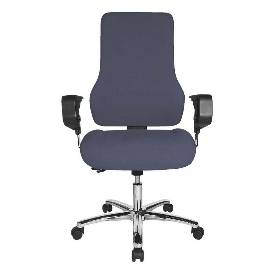 Topstar Bürostuhl »Standard« ohne Armlehnen in blau