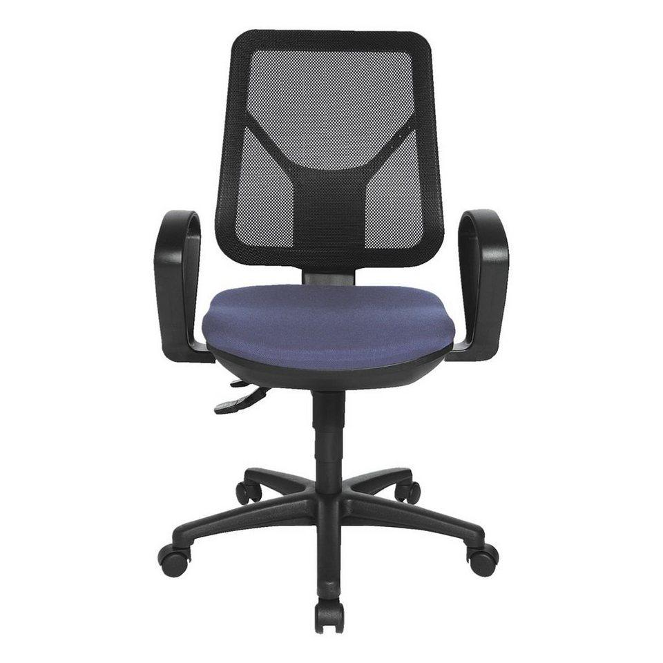 Topstar Bürostuhl »Ergo Net« ohne Armlehnen in blau