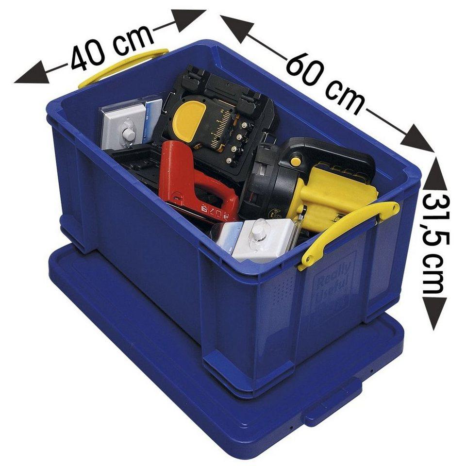 Really Useful Box Ablagebox in blau