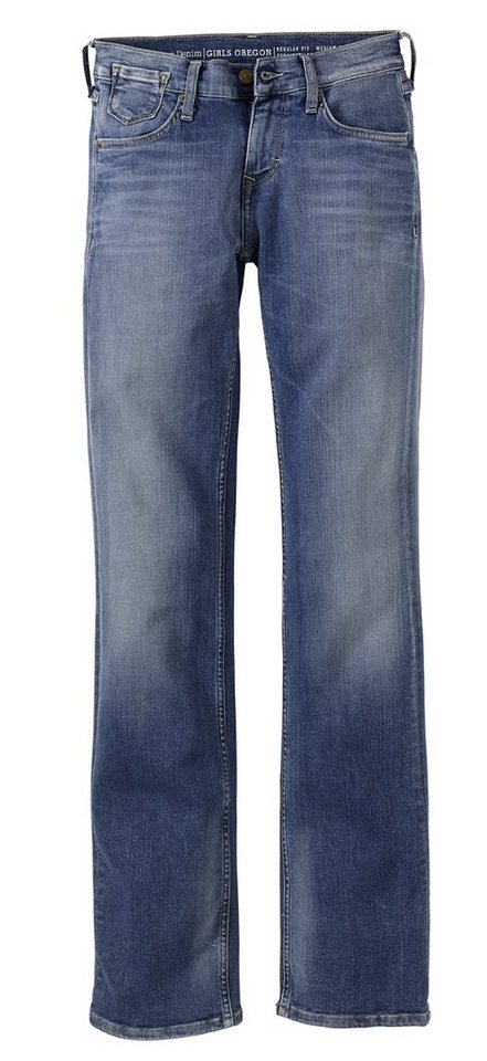 MUSTANG Stretchjeans »Girl' s Oregon« in brushed bleached