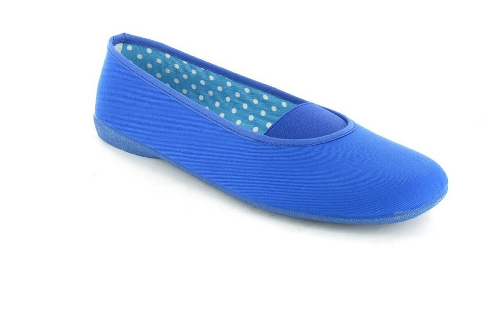 Andres Machado Ballerinas in Blau