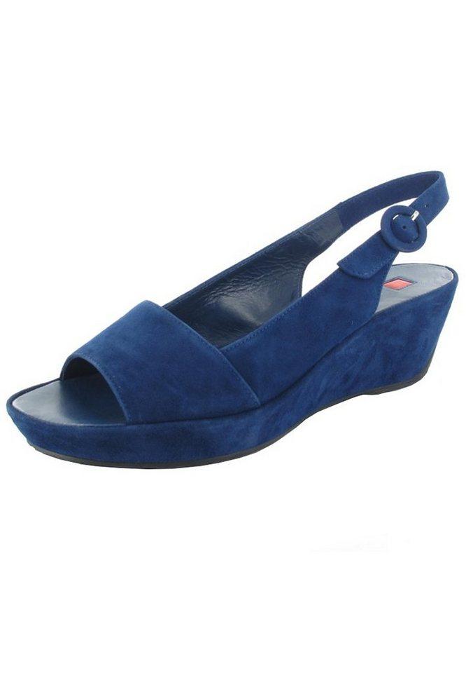 Högl Keil-Sandaletten in Blau