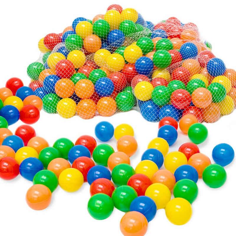 LittleTom Bällebad-Bälle »50 - 10.000 Stück Bällebad Bälle Bällebadbälle«, Bunte Farben Neuware Ball