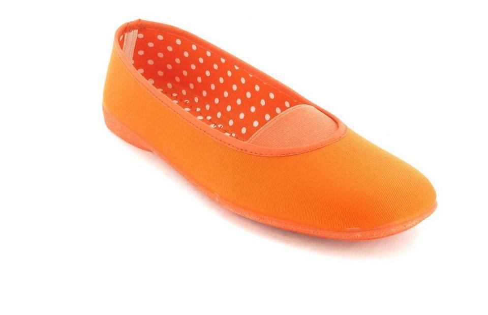 Andres Machado Ballerinas in Orange