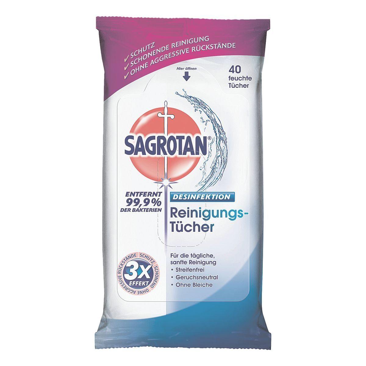 Sagrotan Hygiene-Reinigungstücher
