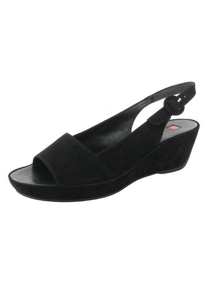 Högl Keil-Sandaletten in Schwarz